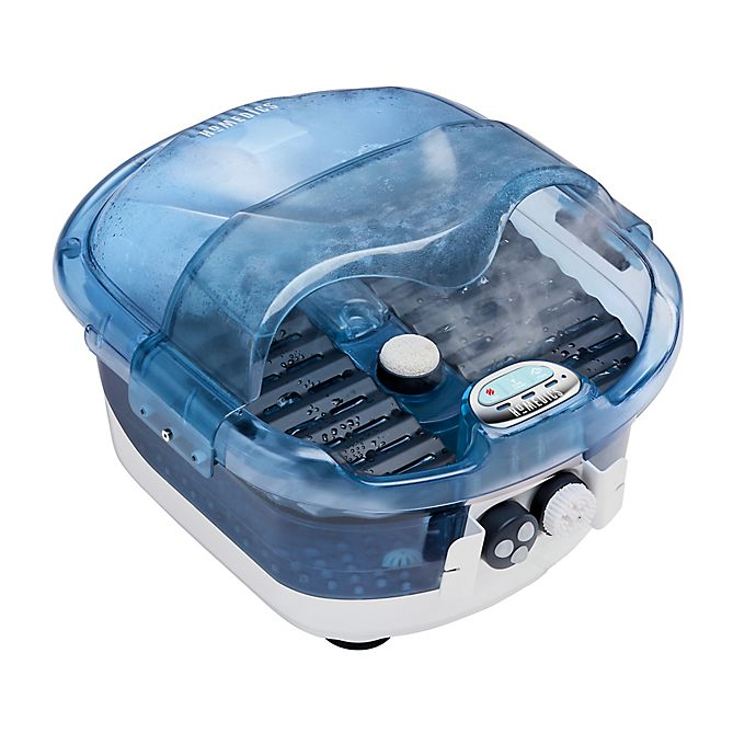 Alternate image 1 for HoMedics® 2-in-1 Sauna and Footbath with Heat Boost