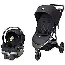 Maxi-Cosi® Gia XP 3-Wheel Single Travel System in Black