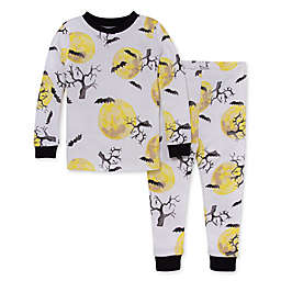 Burt's Bees Baby® 2-Piece Hallows Eve T-Shirt and Pant PJ Set in Onyx