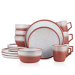 Stone Lain® Vince 16-Piece Dinnerware Set in Red
