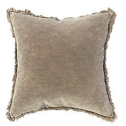 cozy velvet solid toss  pillow