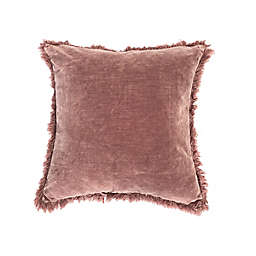 Bee & Willow™ Washed Velvet 20-Inch Square Throw Pillow