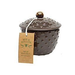 Bee & Willow™ Spiced Winter Berry 11 oz. Hobnail Ceramic Candle