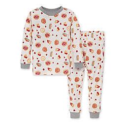 Burt's Bees Baby® 2-Piece Sweet As Pie Organic Cotton T-Shirt and Pant PJ Set