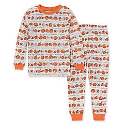 Burt's Bees Baby® 2-Piece Eyes on the Pies Pajama Set in Carrot