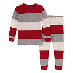 Burt's Bees Baby® 2-Piece Jumbo Stripe Organic Cotton Pajama Set