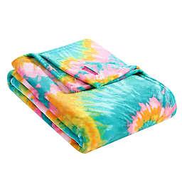 Tie Dye Love Ultra Soft Plush Twin Blanket
