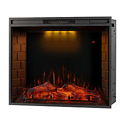 Boyel Living™ Recessed Electric LED Fireplace in Black