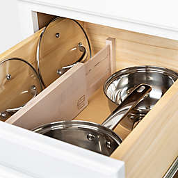 Squared Away™ Drawer Dividers in Bamboo (Set of 2)