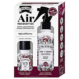 Poo-Pourri® Air Necessities Home & Bathroom Stink-Stopping Set in Spiced Berry