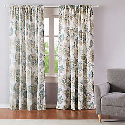 Levtex Home Victoria 2-Pack 84-Inch Rod Pocket Window Curtain Panels
