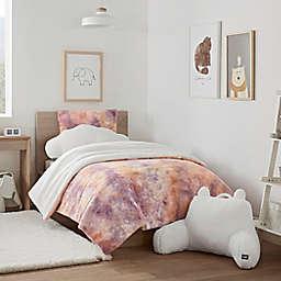 UGG® Kelly Tie-Dye 2-Piece Twin/Twin XL Comforter Set in Sherbet