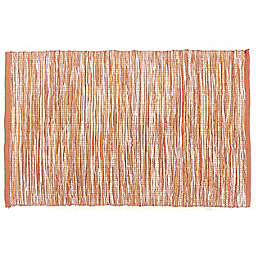 Harvest Space-Dyed Placemat in Orange