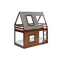 Ti Amo Cascade Log Cabin Bunk Bed