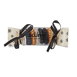 Scunci® 6-Pack Holiday Spirals™ in Champagne Cheers