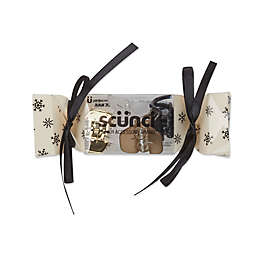 Scunci® 4-Pack Holiday No-Slip Grip® Jaw Clips in Champagne Cheers