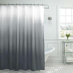 Ombre Weave 70-Inch x 72-Inch Shower Curtain in Dark Grey