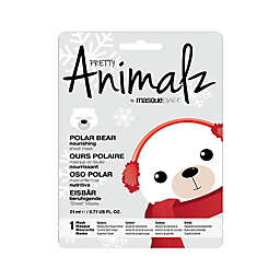 MasqueBAR™ Pretty Animalz Polar Bear Purifying Sheet Mask