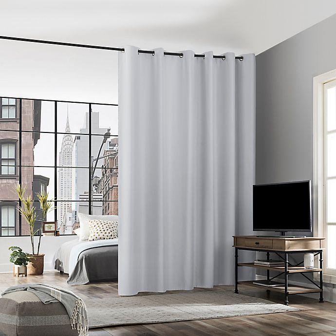 Alternate image 1 for No. 918 Billie Noise Reducing Grommet Room Divider Window Curtain Panel