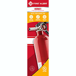 First Alert® Rechargeable Home Fire Extinguisher UL Rated 1-A:10-B:C