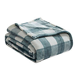 Lakehouse Plaid Ultra Soft Plush King Blanket