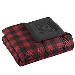 Eddie Bauer® Mountain Plaid Down Alt Blanket in Red