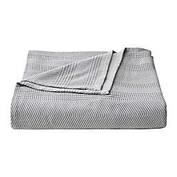 Chevron Grey Full/Queen Blanket