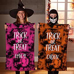 Halloween Tie Dye Pillowcase Treat Bag