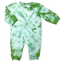 Kapital K™ Size 6-9M Spiral Tie Dye Coverall in Green