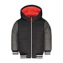 carter's® Colorblock Baseball Jacket in Black