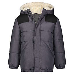 carter's® Size 4T Colorblock Puffer Coat in Grey