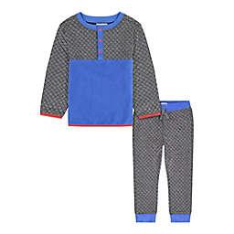 Beetle & Thread® 2-Piece Quilted Fleece Pant Set