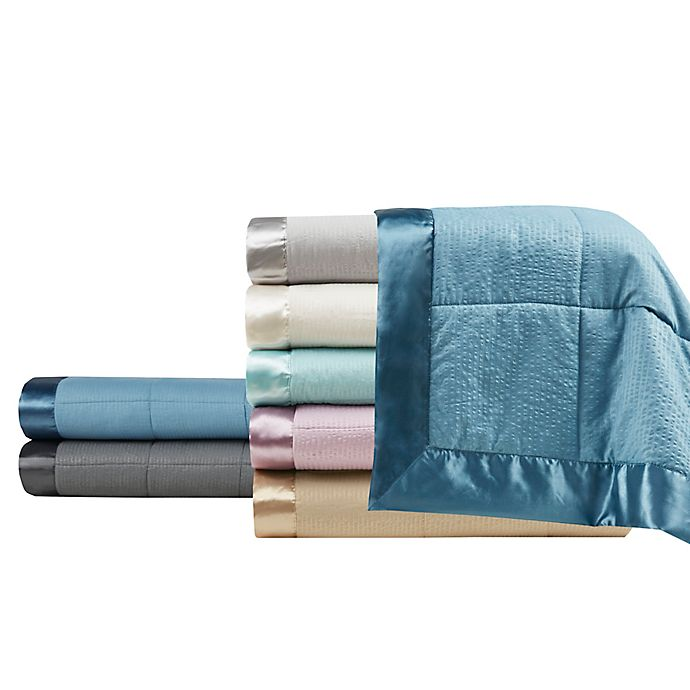 Alternate image 1 for Madison Park Cambria Down Alternative Blanket with 3M Scotchgard