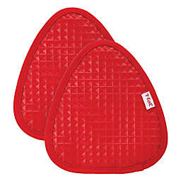 T-fal® 2-Pack Waffle Cotton and Silicone Pot Holders