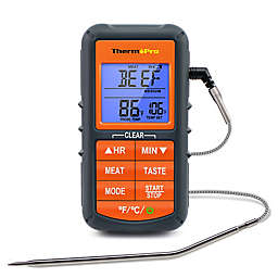 ThermoPro® TP-06 Digital Cooking Thermometer in Orange