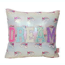 OMG Accessories® Dream Over The Rainbow Throw Pillow in Lavender