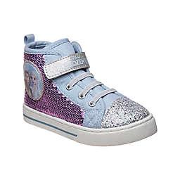 Disney® Size 12 Frozen High Top Canvas Sneaker in Purple/Blue