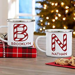 Candy Cane Lane Personalized Christmas Camp Mug