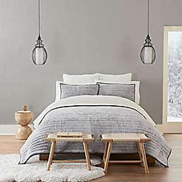 UGG® Pine Ridge Tip 3-Piece King Quilt Set in Charcoal