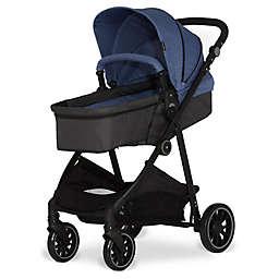 Dream On Me Jade 2-in-1 Reversible Stroller in Blue