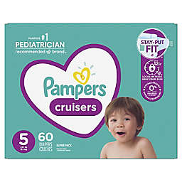 Pampers® Cruisers™ Size 5 60-Count Disposable Diapers