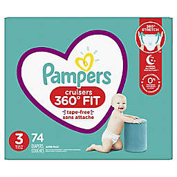 Pampers® Cruisers 360 Degrees Fit™ Size 3 74-Count Disposable Diapers