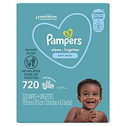 Pampers® Complete Clean™ 720-Count Scented Baby Wipes