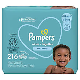 Pampers® Complete Clean™ 216-Count Scented Baby Wipes