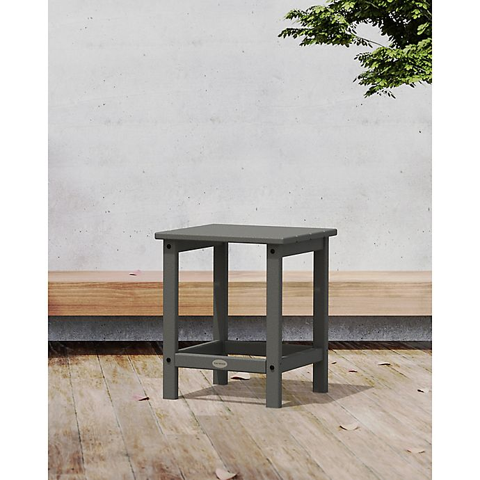 Alternate image 1 for POLYWOOD® Long Island 18-Inch Side Table in Slate Grey