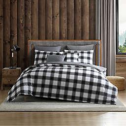 Eddie Bauer® Canyon Plaid Comforter Bonus Set in White