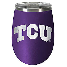 Texas Christian University 10 oz. Rally Cry Wine Tumbler