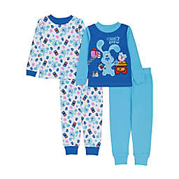 Blue's Clues 4-Piece Pajama Set in Blue