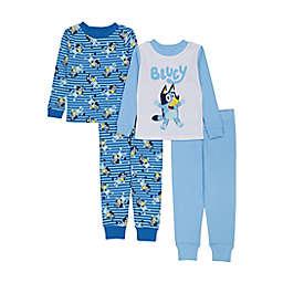Bingo Bluey 4-Piece Cotton Sleepwear Set