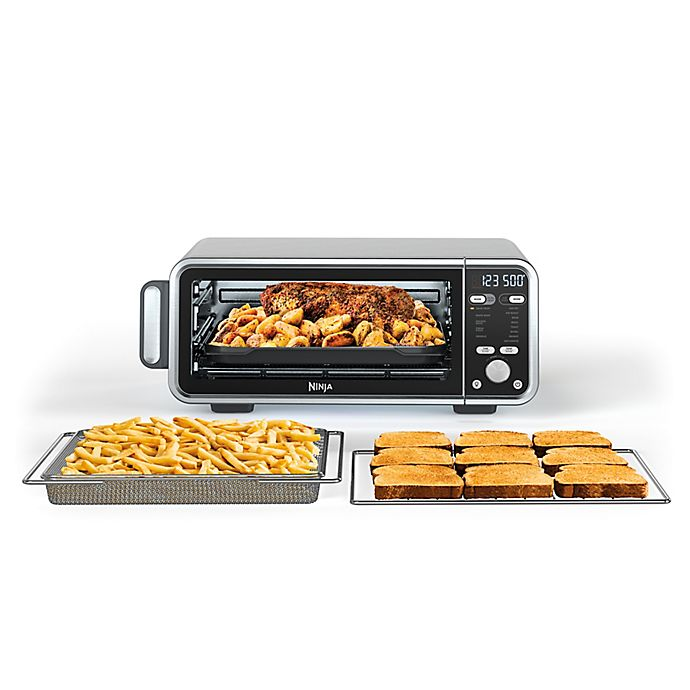Alternate image 1 for Ninja® Foodi™ Dual Heat Air Fry Oven in Stainless Steel/Black